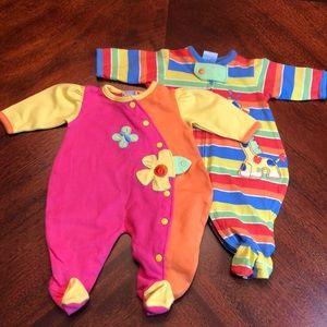 Got twins? Preemie size boy/girl onesies